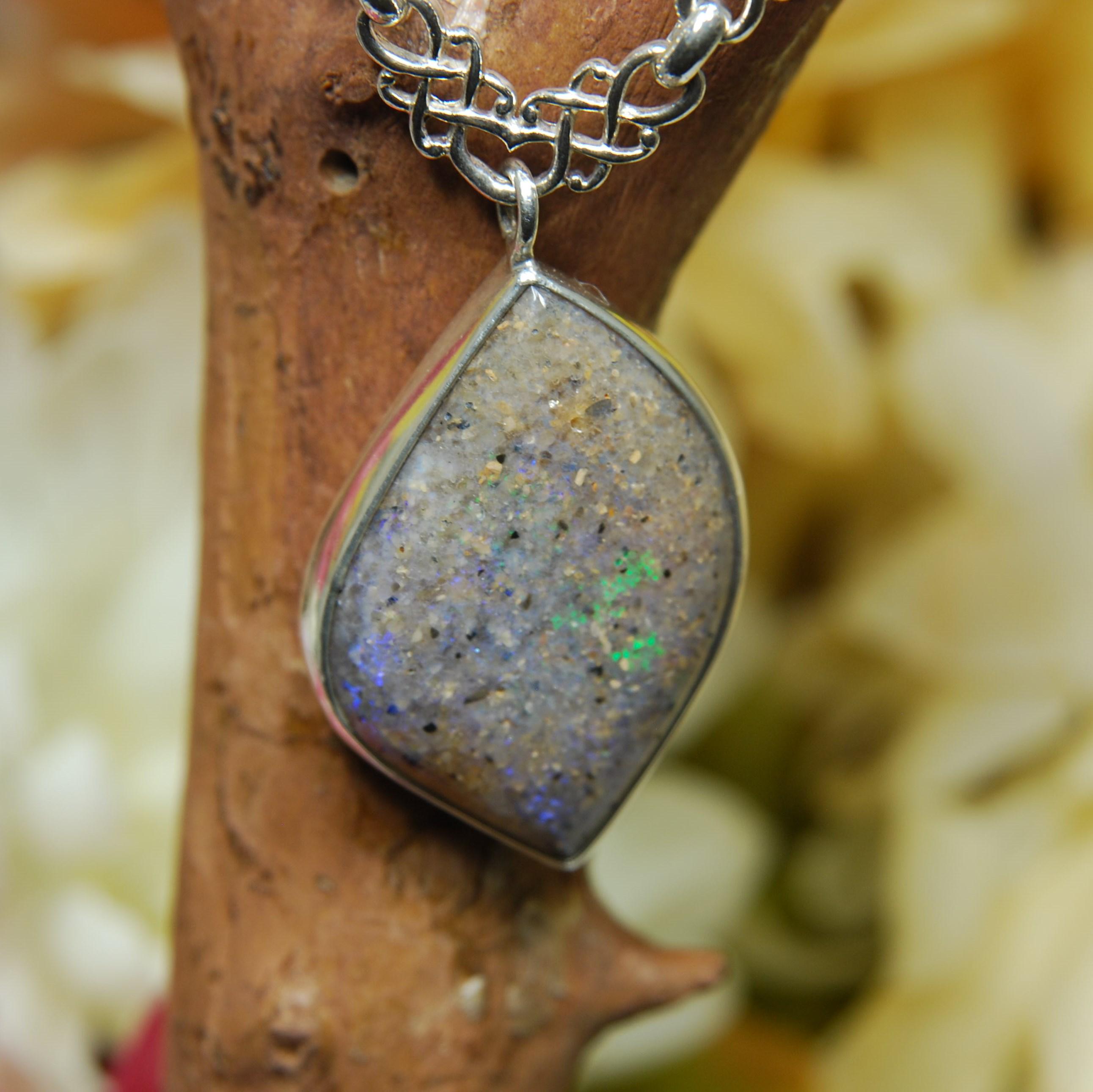Freeform art deco la opal necklace f347 louisiana opals by ricks youre viewing freeform art deco la opal necklace f347 39500 aloadofball Images